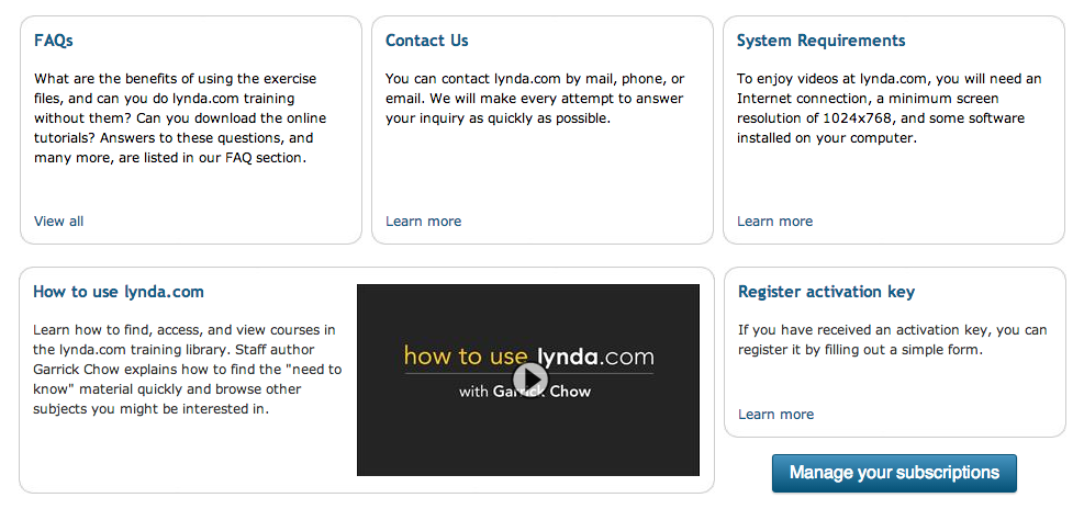 Tried And Tested: A Lynda com In-Depth Review