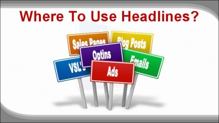 Digital Marketing This Week - Perfect Headline - where to use headlines