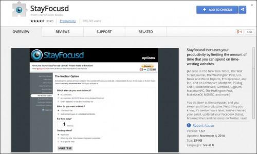 Digital Marketing This Week - Productivity - StayFocusd