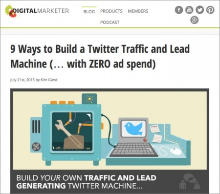 Digital Marketing This Week - Ep 46 - Building the Twitter traffic