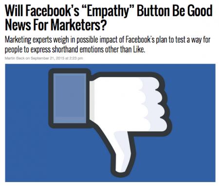 Digital Marketing This Week - Ep 50 - Facebook Empathy button