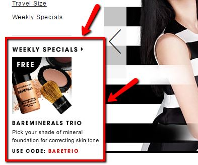 Landing Page Best Practices - Sephora