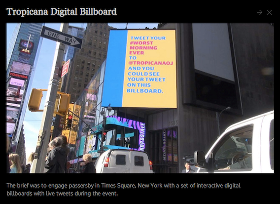 Tropicana Digital Billboard