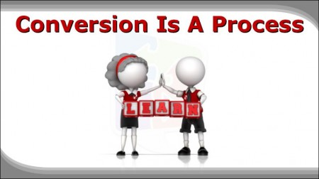Digital Marketing This Week - Conversions - It is a process