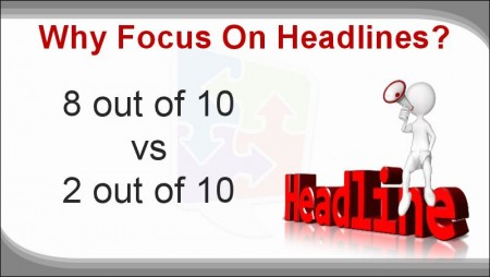 Digital Marketing This Week - Perfect Headline - Why focus on headlines