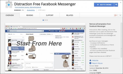 Digital Marketing This Week - Productivity - Distraction Free Facebook Messenger