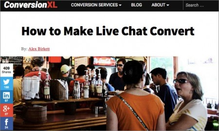 Digital Marketing This Week - Ep 46 - ConversionXL Live Chat Conversion