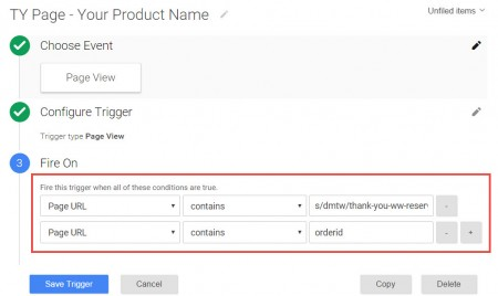 google tag manager data layer trigger