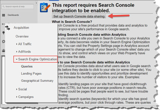 SEO Search Console